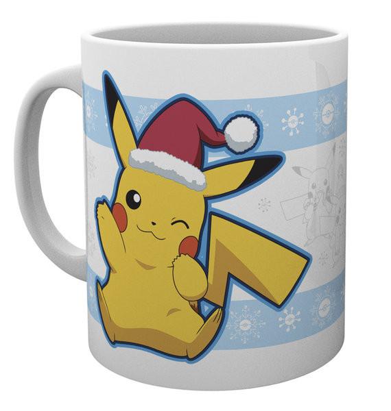 Hrnek  Pokemon - Pikachu Santa