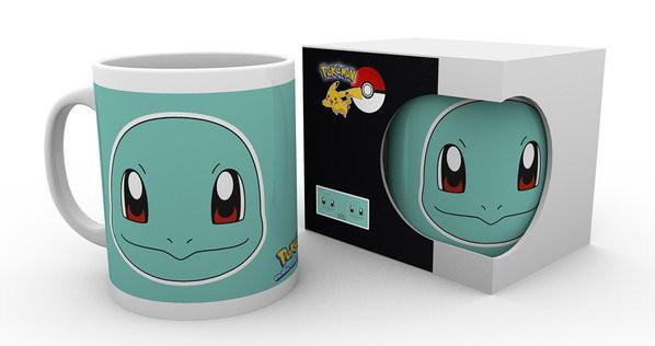 Hrnek  Pokémon - Squirtle Face