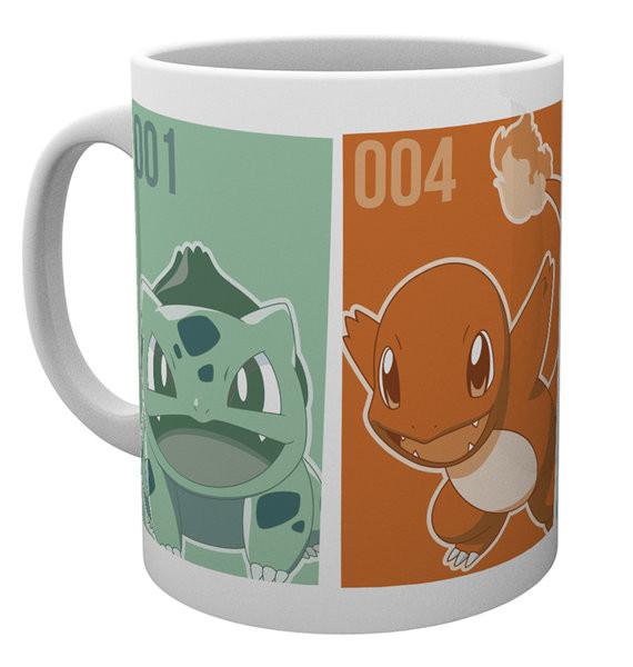 Hrnek Pokemon - Starters