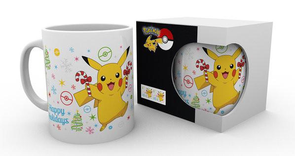 Hrnek  Pokemon - Xmas Pikachu