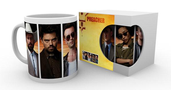 Hrnek  Preacher - Characters