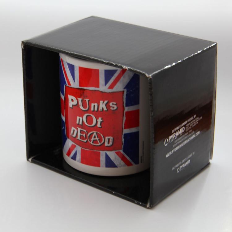 Hrnek  Punk's Not Dead