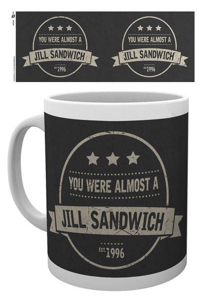 Hrnek  Resident Evil - Jill Sandwich