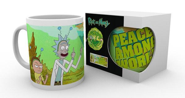 Hrnek Rick And Morty - Peace