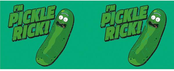 Hrnek Rick And Morty - Pickle Rick