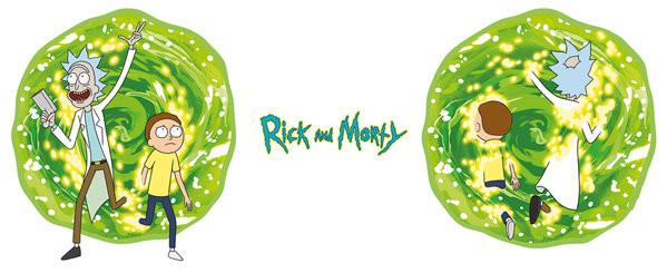 Hrnek Rick And Morty - Portal