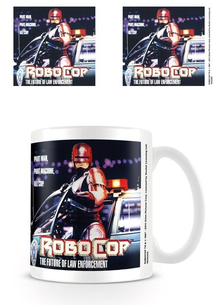 Hrnek Robocop - 1987 One Sheet