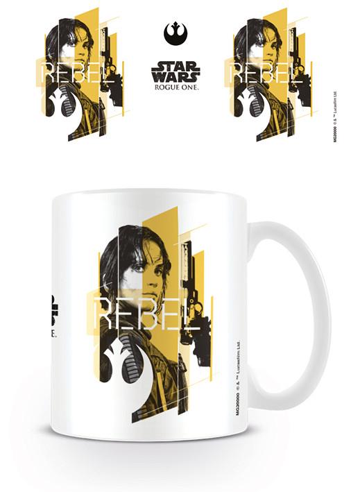 Hrnek  Rogue One: Star Wars Story - Jyn Rebel