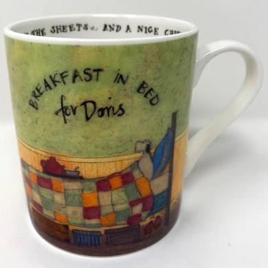 Hrnek  Sam Toft - Breakfast in Bed For Doris