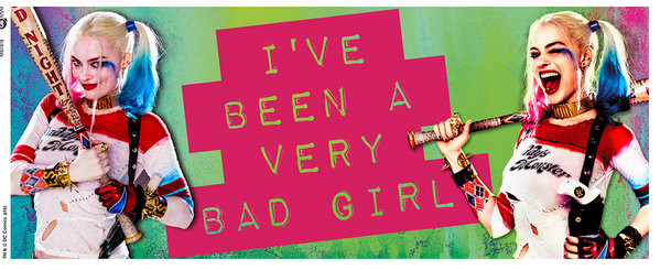 Hrnek  Sebevražedný oddíl - Bad Girl