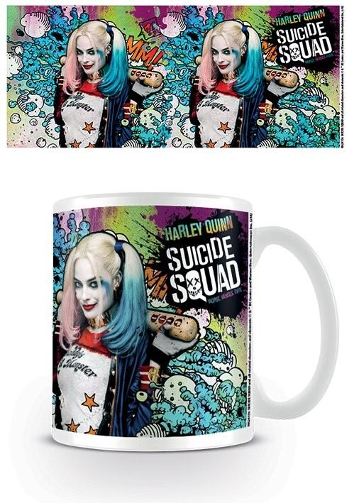 Hrnek Sebevražedný oddíl - Harley Quinn Crazy