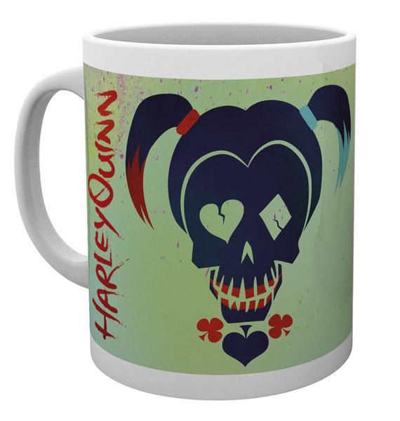 Hrnek  Sebevražedný oddíl - Harley Skull