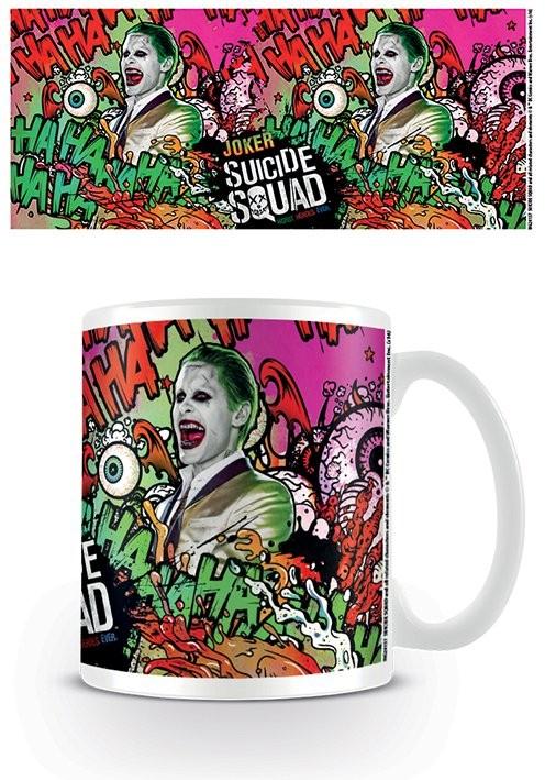 Hrnek  Sebevražedný oddíl - Joker Crazy