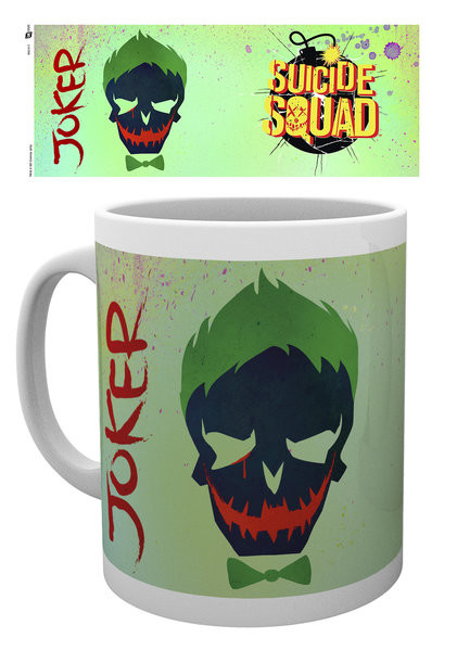 Hrnek  Sebevražedný oddíl - Joker Skull