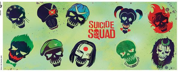 Hrnek  Sebevražedný oddíl - Skulls