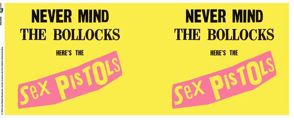 Hrnek  Sex Pistols - Never Mind The Bollocks