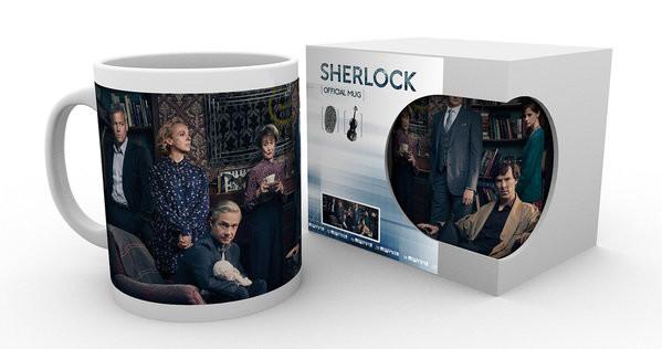Hrnek  Sherlock - Cast