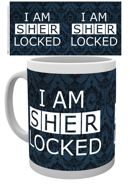 Hrnek  Sherlock - Sherlocked Dark