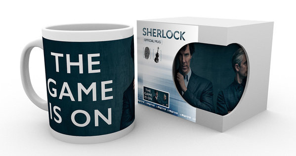 Hrnek Sherlock - The Game Is On