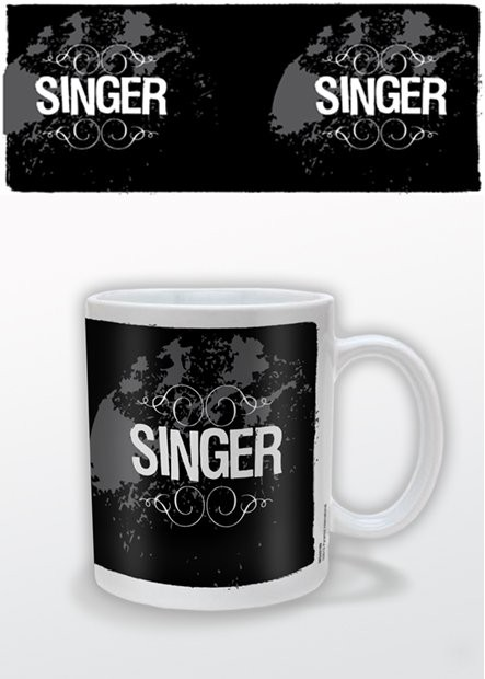 Hrnek  Singer