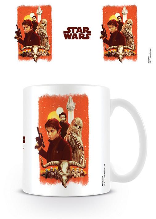 Hrnek Solo A Star Wars Story - Friends and Enemies