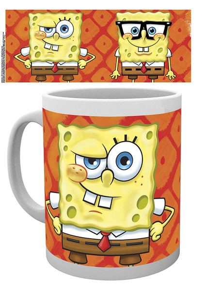 Hrnek Spongebob - Faces