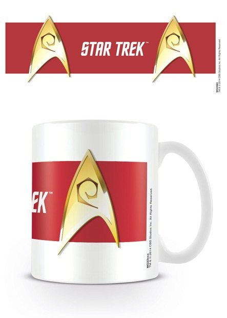 Hrnek Star Trek - Engineering Red