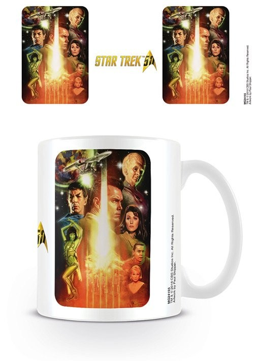 Hrnek  Star Trek: The Cage - 50th Anniversary