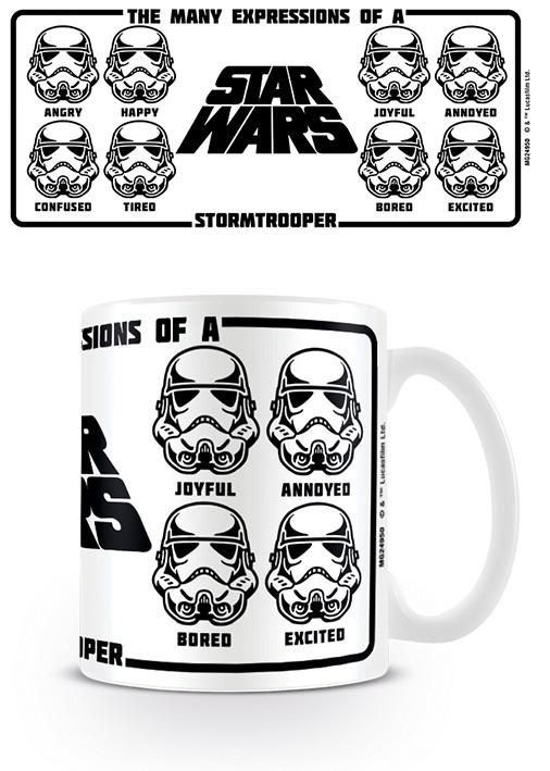 Hrnek  Star Wars - Expressions Of A Stormtrooper
