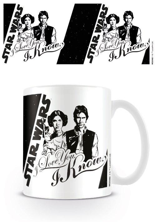 Hrnek  Star Wars - I Love You