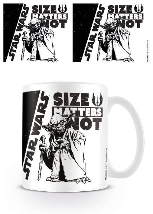 Hrnek  Star Wars - Size Matters Not
