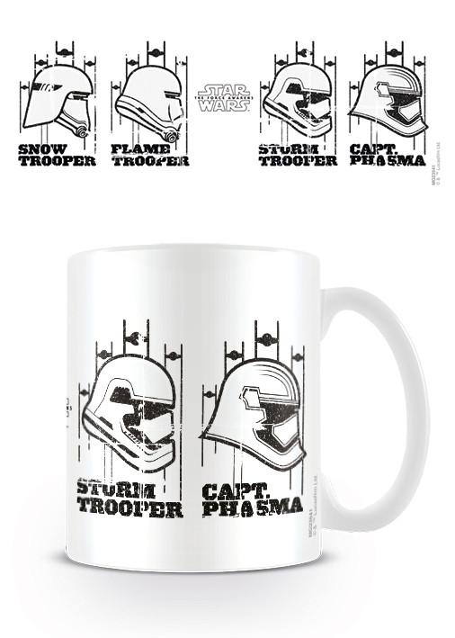 Hrnek  Star Wars VII - Helmets