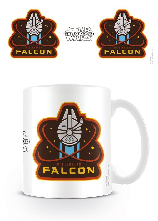 Hrnek Star Wars VII: Síla se probouzí - Millennium Falcon
