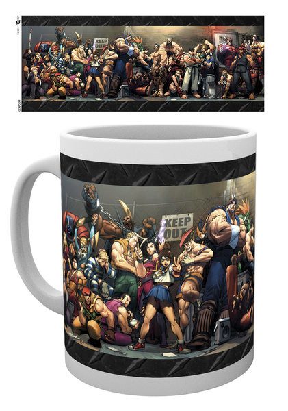 Hrnek  Street Fighter - Fight
