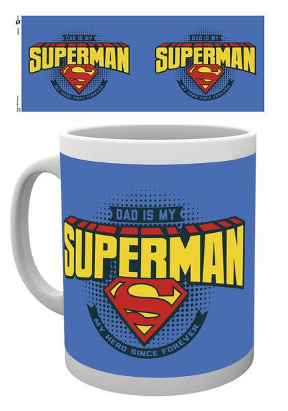 Hrnek  Superman - Dad is Superman