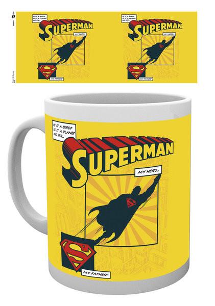 Hrnek  Superman - Is It A Bird? Dad mug