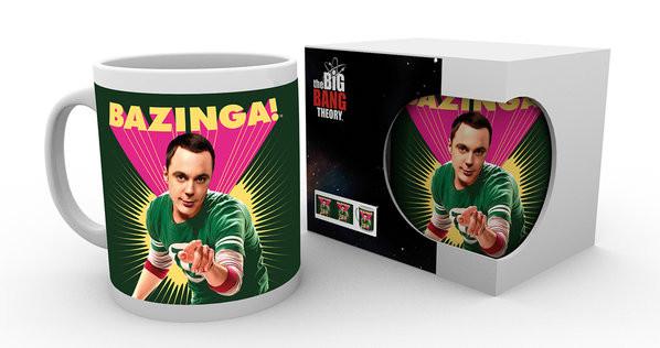 Hrnek  The Big Bang Theory (Teorie velkého třesku) - Sheldon Bazinga