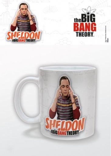 Hrnek The Big Bang Theory (Teorie velkého třesku) - Sheldon