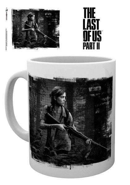Hrnek The Last Of Us Part 2 - Black and White