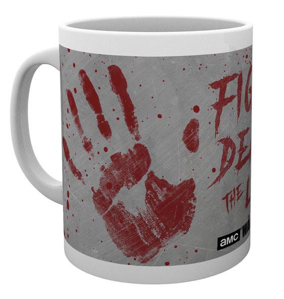 Hrnek  The Walking Dead - Hand Prints