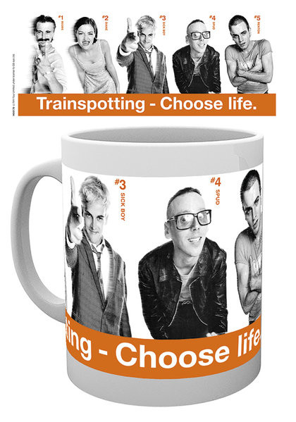 Hrnek  Trainspotting - Cast