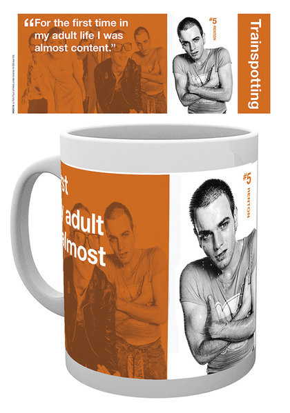Hrnek  Trainspotting - Renton