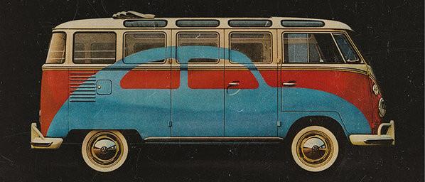 Hrnek  VW Volkswagen Camper - Advert