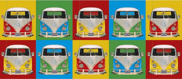 Hrnek  VW Volkswagen Camper - Campers colours p.