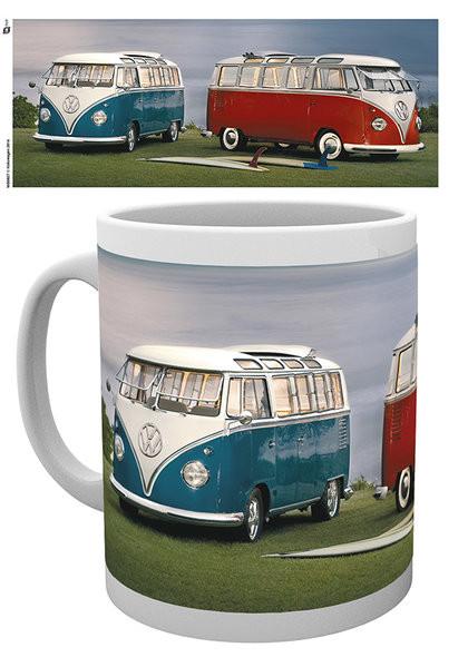Hrnek VW Volkswagen Twin Kombis - Brendan Ray