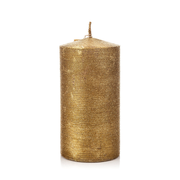 Candle Holder with Lid, Gold Huis Decoratie