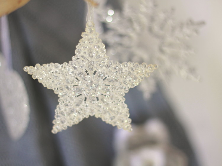 Star, 15 cm, set of 6 pcs Huis Decoratie