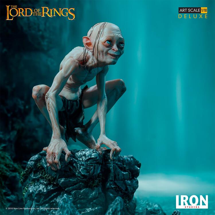 Statuetta Il Signore degli Anelli - Gollum (Deluxe)