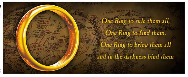 Tazza Il Signore degli Anelli – One Ring