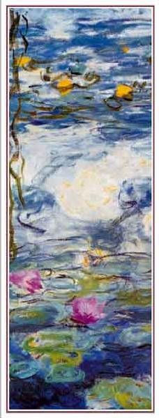 Water Lilies, 1916-1919 (part.) Картина